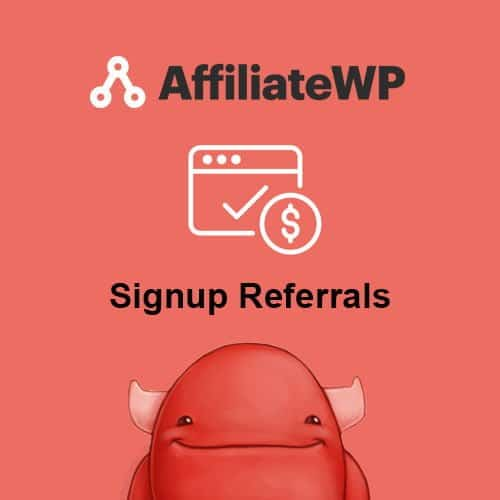 AffiliateWP - Signup Referrals Addon