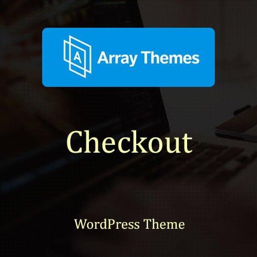 Array Themes Checkout WordPress Theme