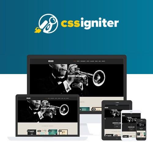 CSS Igniter Berliner WordPress Theme