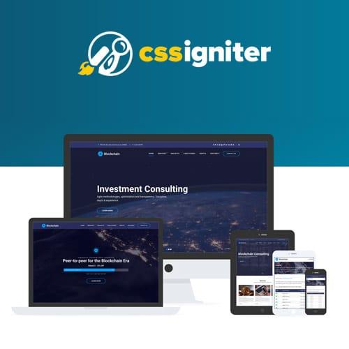 CSS Igniter Blockchain WordPress Theme