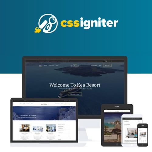CSS Igniter Kea WordPress Theme