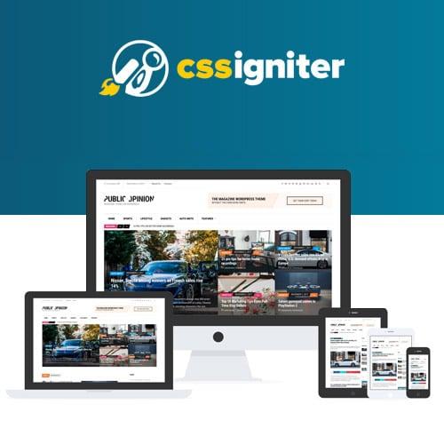 CSS Igniter Public Opinion WordPress Theme