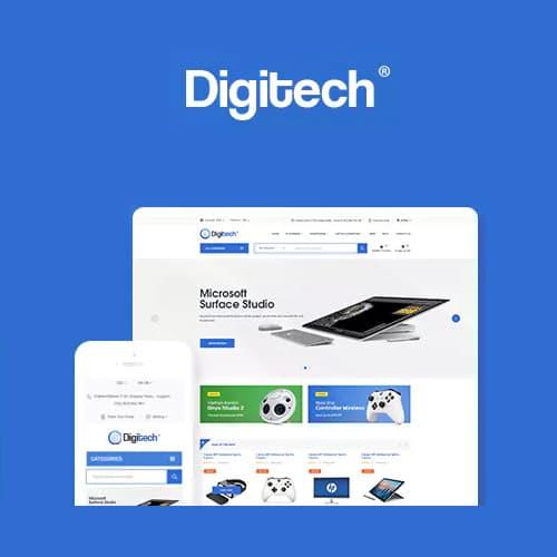 Digitech – Technology Theme for WooCommerce WordPress