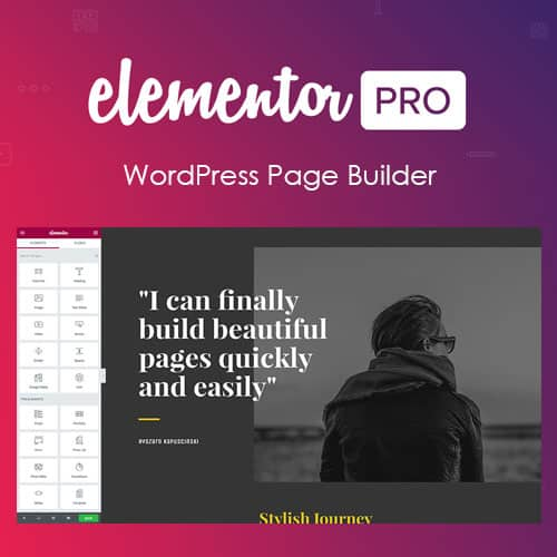 Elementor PRO WordPress Page Builder + Pro Templates