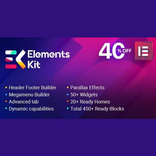 Elements Kit – All In One Addons for Elementor Page Builder