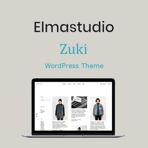 ElmaStudio Zuki WordPress Theme