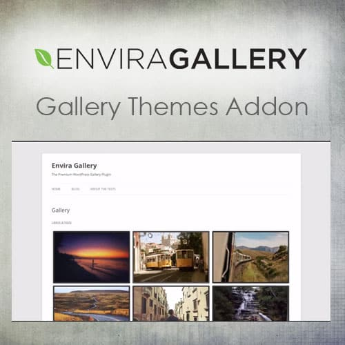 Envira Gallery – Gallery Themes Addon