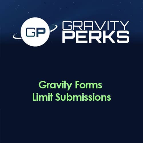 Gravity Perks – Gravity Forms Limit Submissions