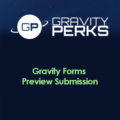 Gravity Perks – Gravity Forms Preview Submission