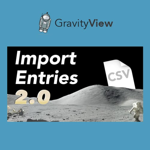 GravityView – Gravity Forms Import Entries