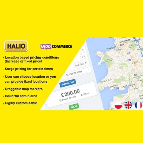 Halio: WooCommerce Taxi Booking Plugin