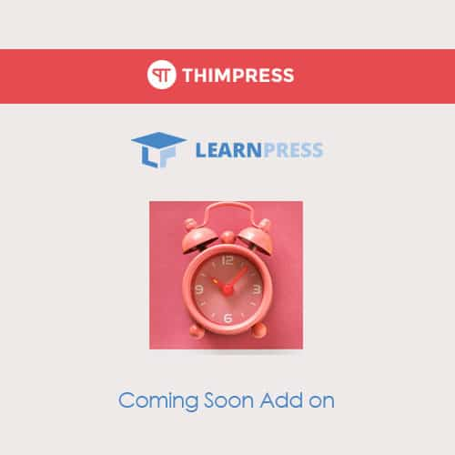LearnPress – Coming Soon Courses