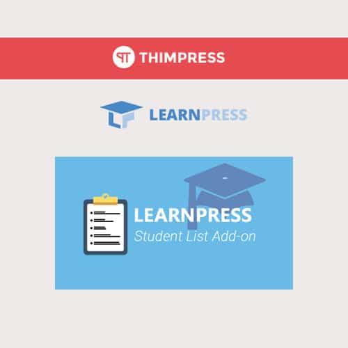 LearnPress – Students List