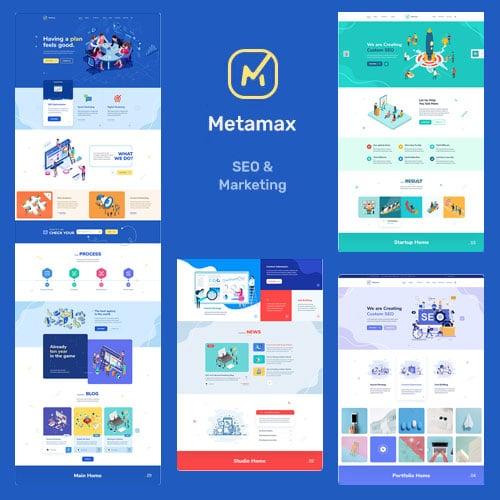MetaMax – SEO and Marketing WordPress Theme