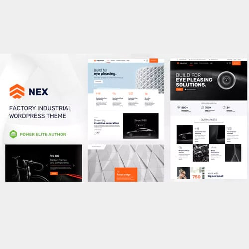 Nex – Factory & Industrial WordPress