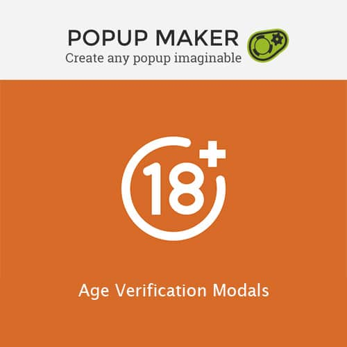Popup Maker – Age Verification Modals