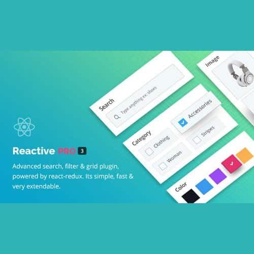 Reactive Pro – Advanced WordPress Search Filter Map & Grid