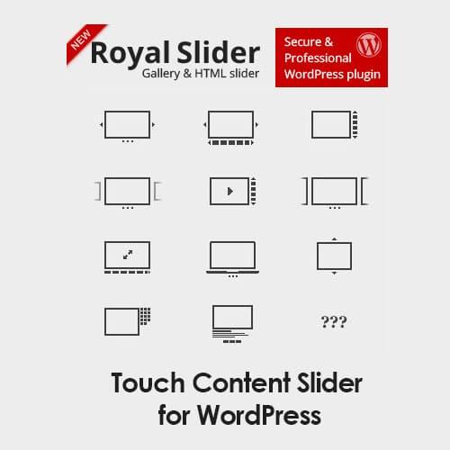 RoyalSlider – Touch Content Slider for WordPress