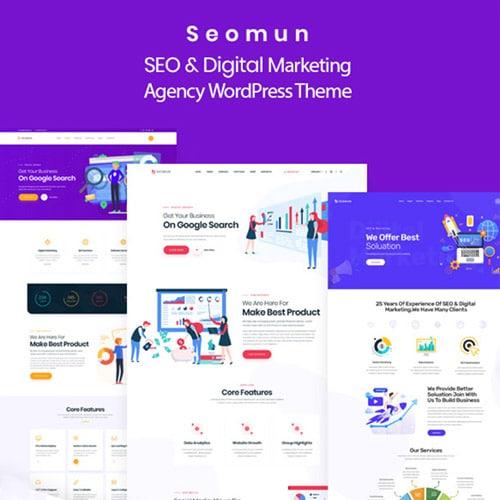 Seomun – Digital Marketing Agency WordPress Theme