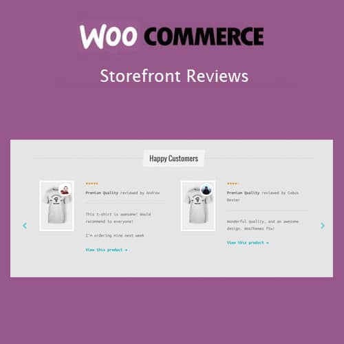 Storefront Reviews