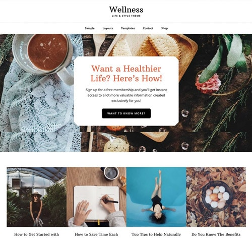 StudioPress Wellness Pro Genesis WordPress Theme