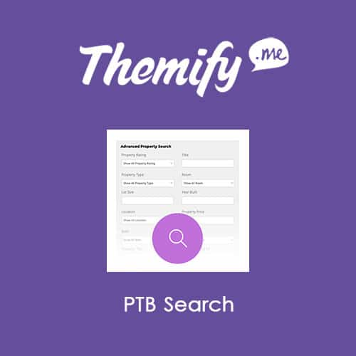 Themify Post Type Builder Search