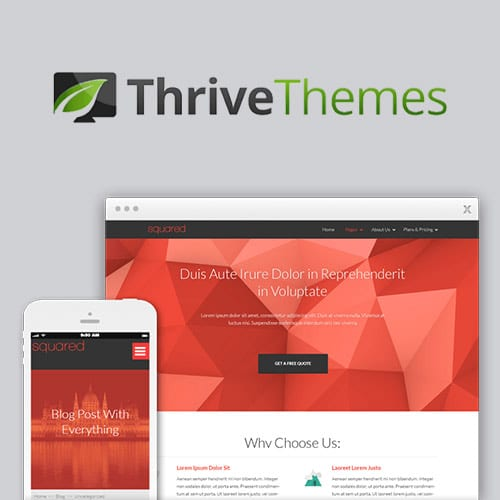 Thrive Themes Squared WordPress Theme
