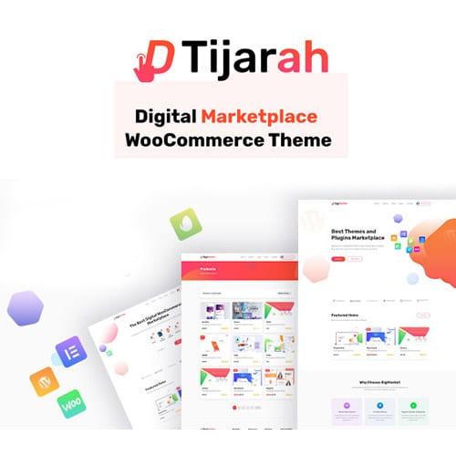 Tijarah – Digital Marketplace WooCommerce Theme