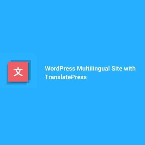 TranslatePress Pro WordPress Multilingual Plugin With Business Addon