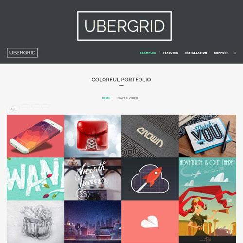 UberGrid – responsive grid builder for WordPress