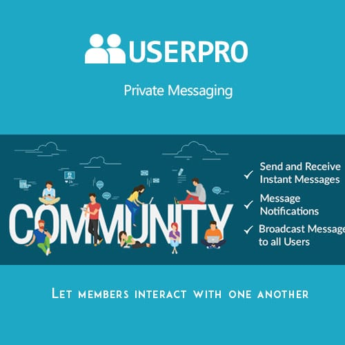 UserPro – Private Messages Add-on