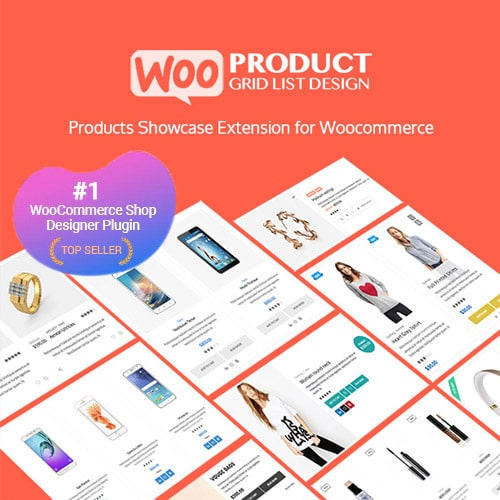 WOO Product Grid/List Design- Responsive Products Showcase Extension for WooCommerce