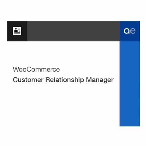 WooCommerce Customer Relationship Manager