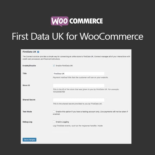 WooCommerce FirstData UK
