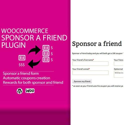 WooCommerce Sponsor a Friend Plugin