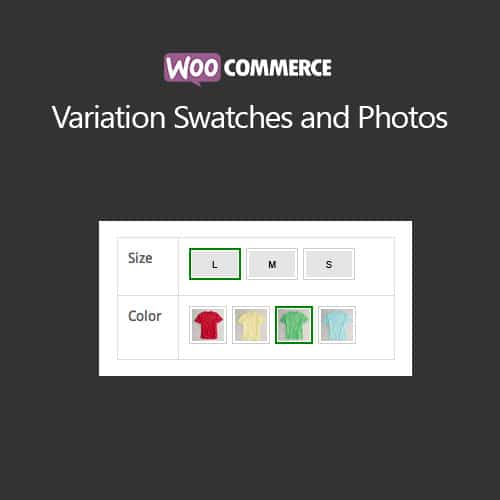 WooCommerce Variation Swatches and Photos