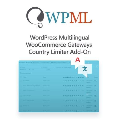 WordPress Multilingual WooCommerce Gateways Country Limiter Add-On