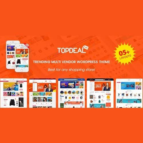 TopDeal - Multi Vendor Marketplace Elementor WooCommerce WordPress Theme