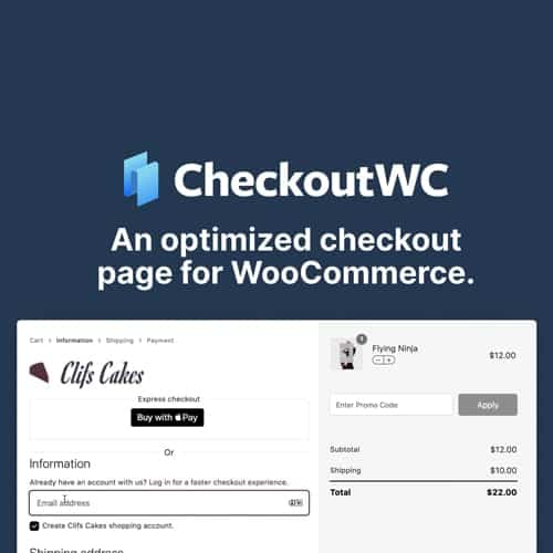 CheckoutWC - Checkout for Woocommerce
