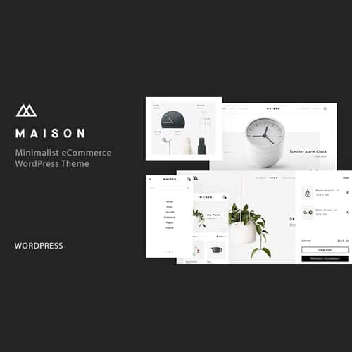Maison Minimalist eCommerce WordPress Theme
