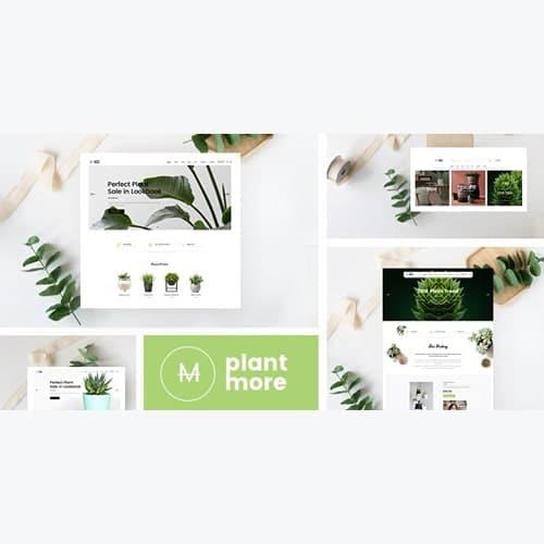 Plantmore Responsive Theme for WooCommerce WordPress