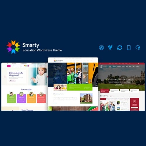 Smarty School Kindergarten WordPress theme