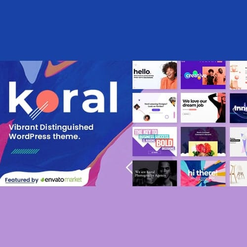 Koral Multi Concept WordPress Theme