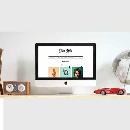 Oliver - Classic Portfolio WordPress Theme