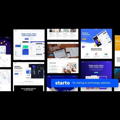 Starto Saas Software Startup WordPress