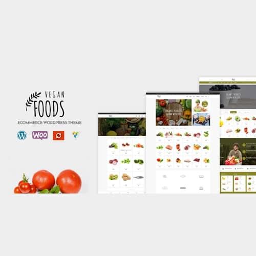 Vegan Food - Organic Store Responsive WooCommerce WordPress Theme