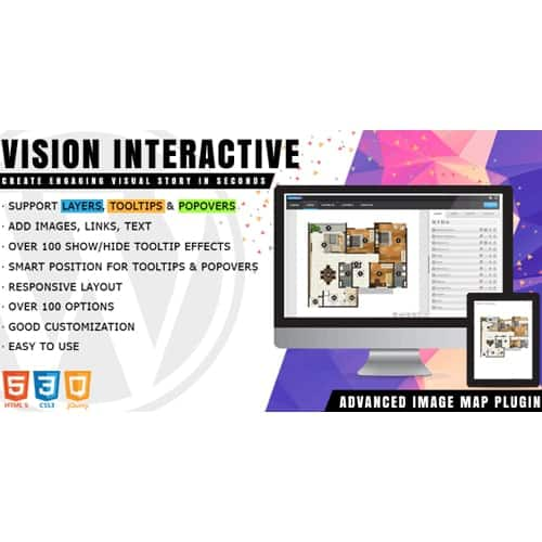 Vision Interactive - Image Map Builder for WordPress