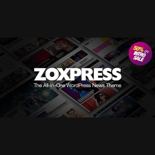 ZoxPress The All In One WordPress News Theme