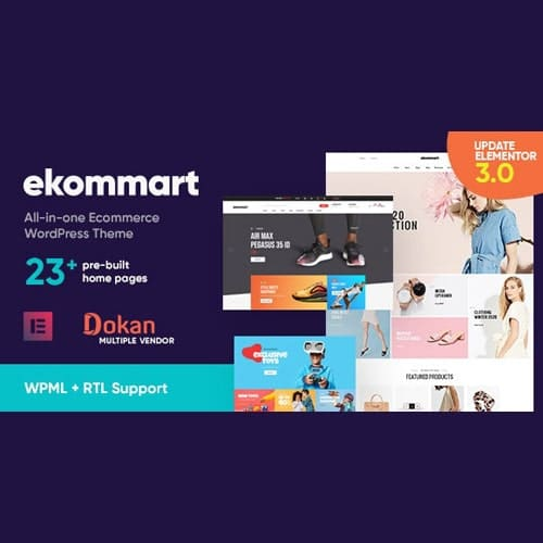 ekommart All in one eCommerce WordPress Theme